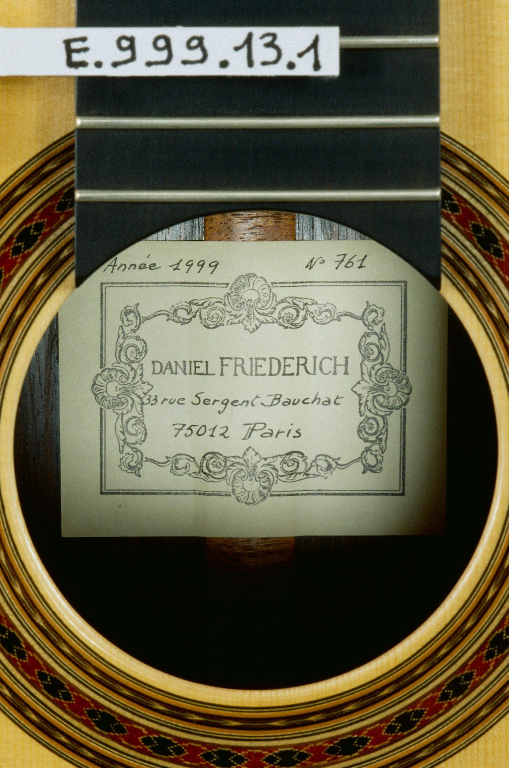 guitare daniel friedrich